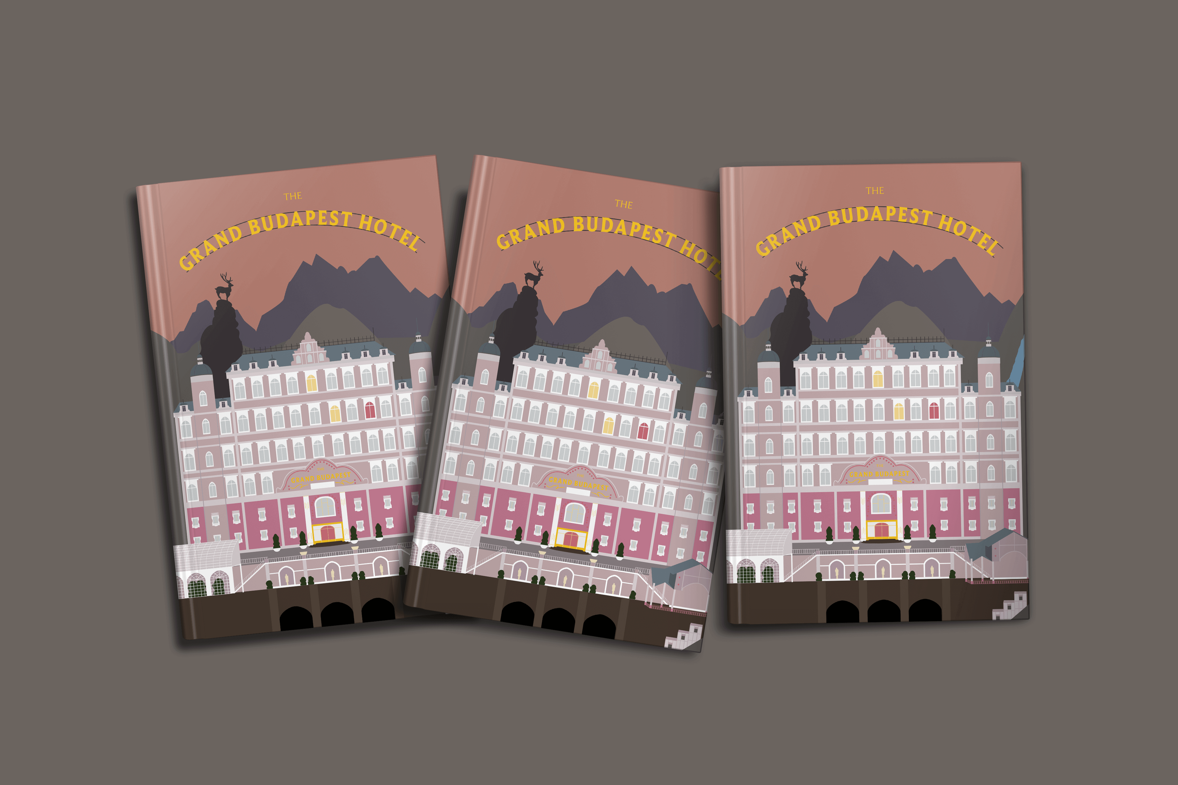 Cover created for The Grand Budapest Hotel