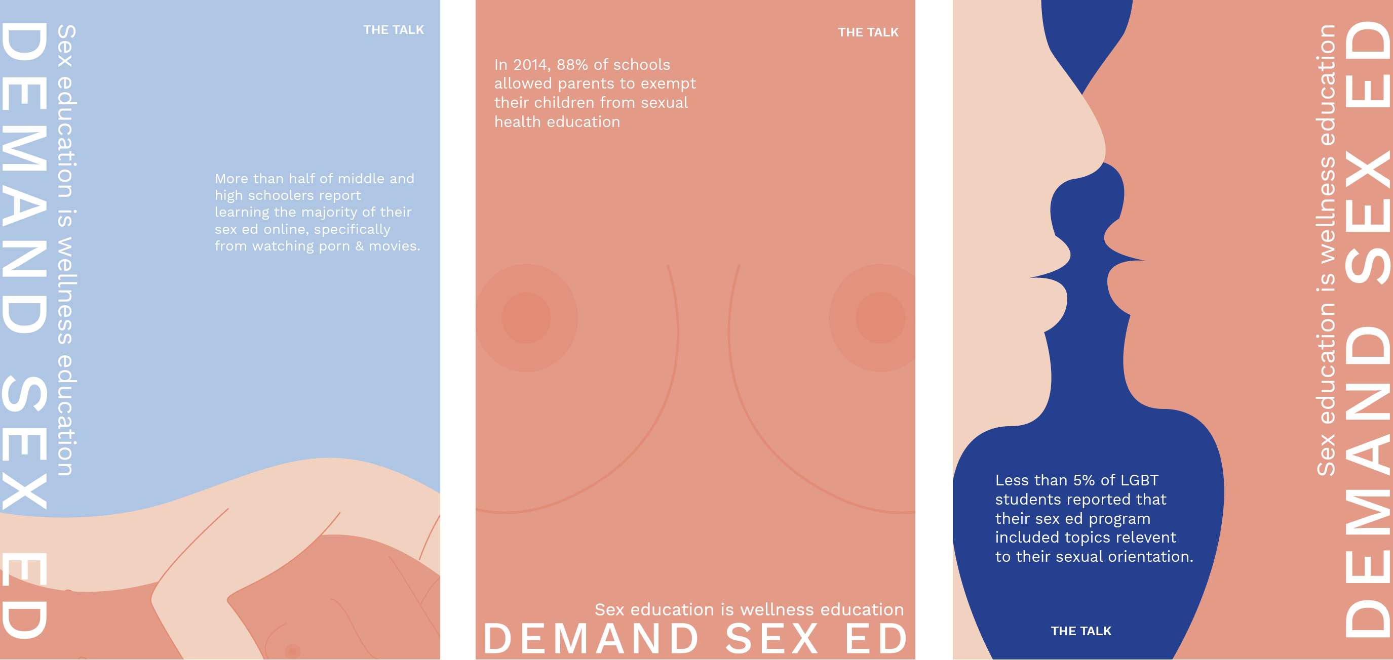 Posters created for The Talk