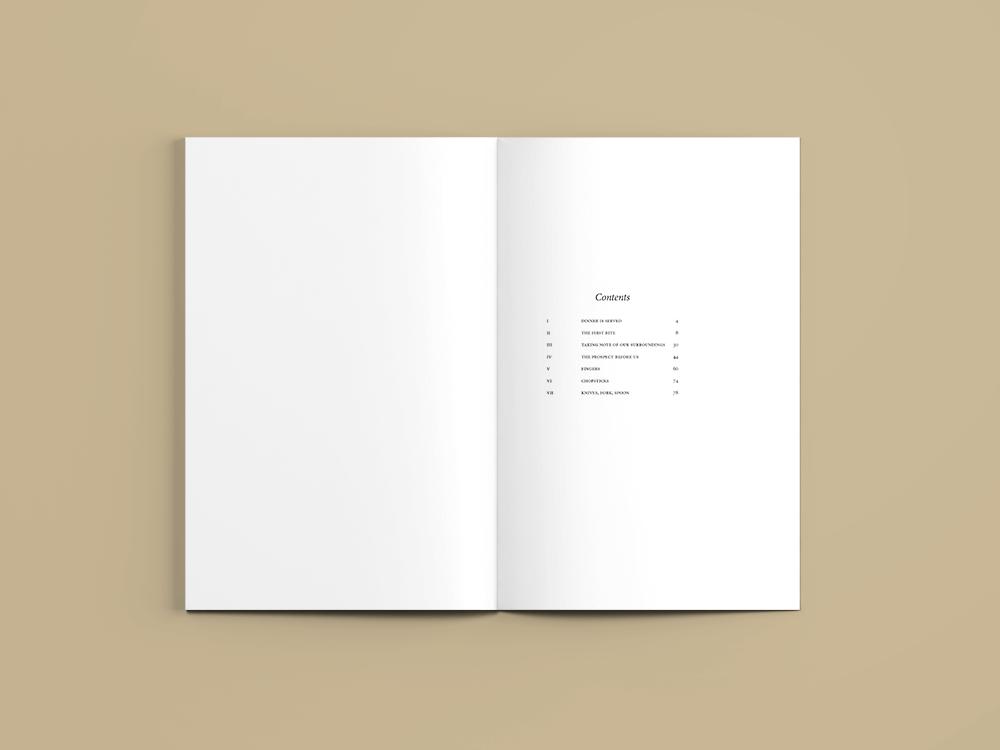 Etiquette Table of Contents