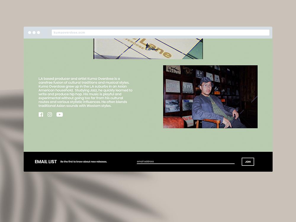 Kuma Overdose Website 3