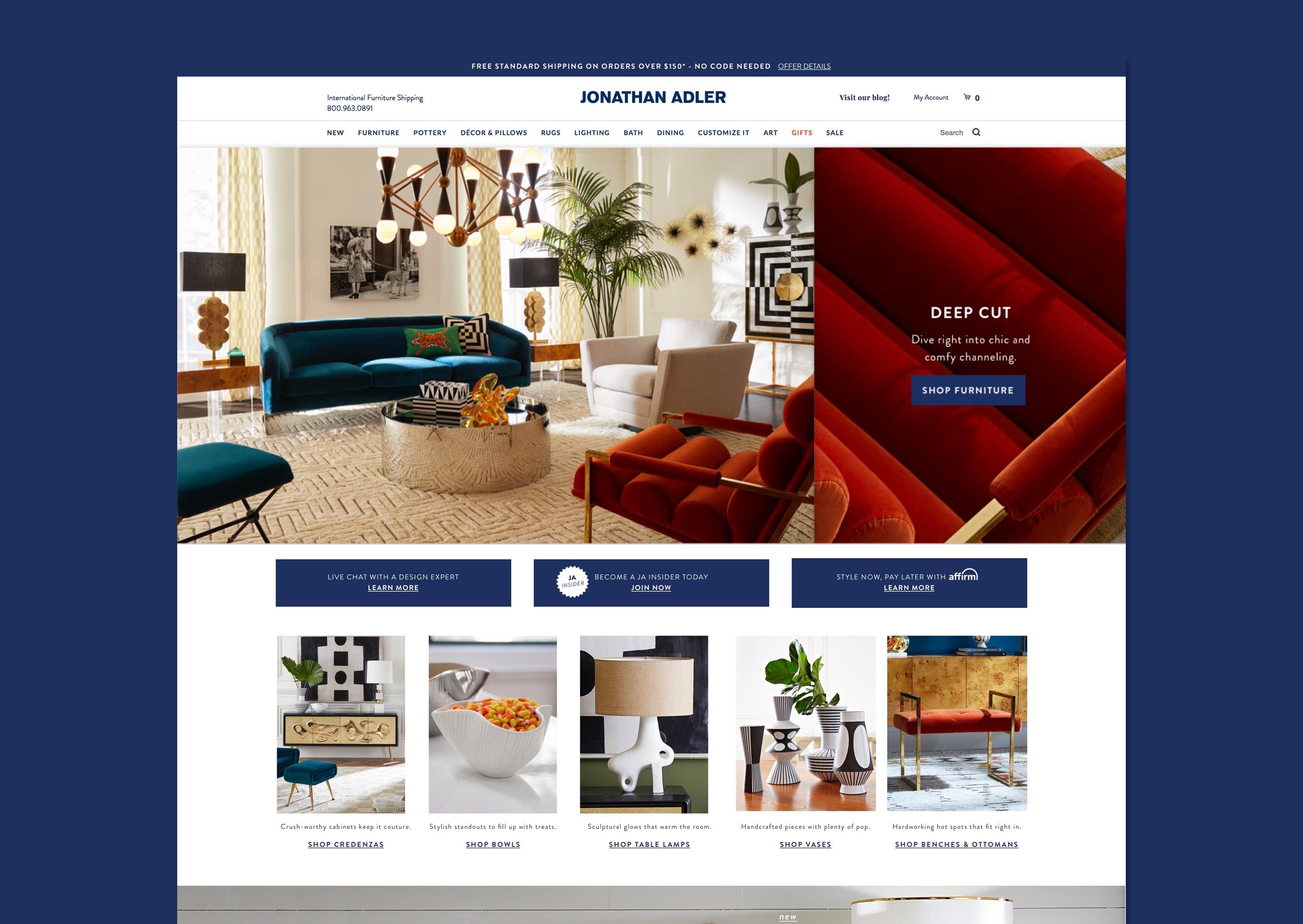 Jonathan Adler Website